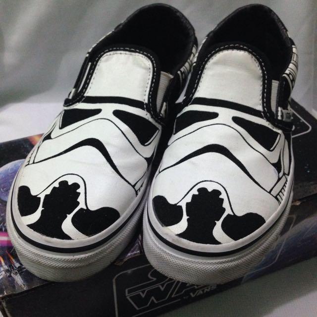 Vans Classic Slip-On StarWars Stormtrooper
