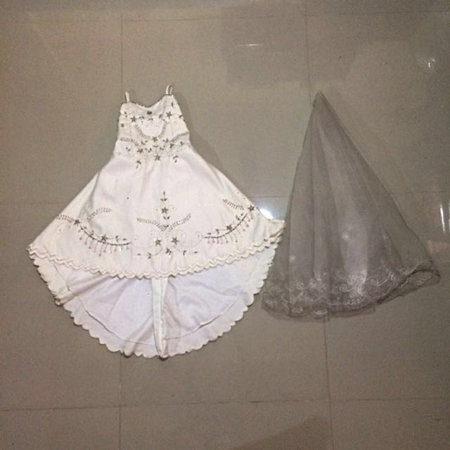 Wedding gown / dress for kids
