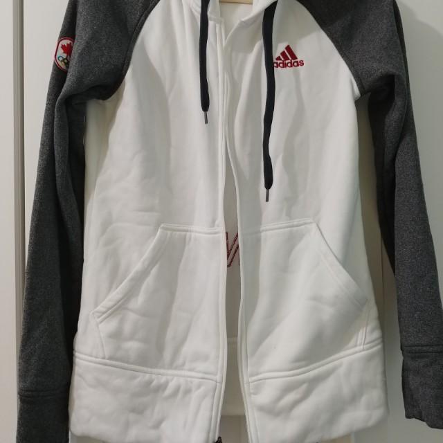 White/Grey Adidas Sweater