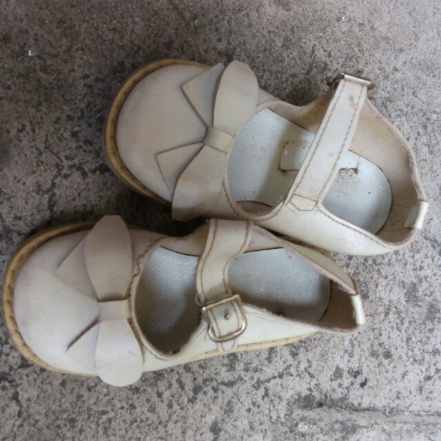 White Doll shoes (vintage)