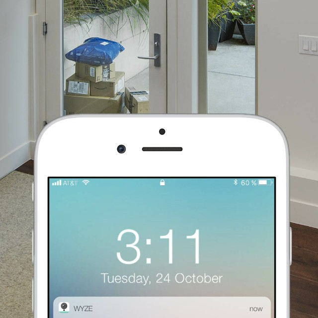 Wyze CCTV smart home security camera ful hd iphone android