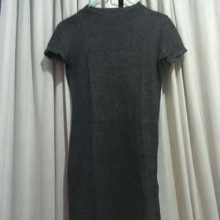 dress bodycon fitted ribbed