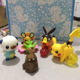 Take all‼️McDonald's Happy Meal - Pokémon collection