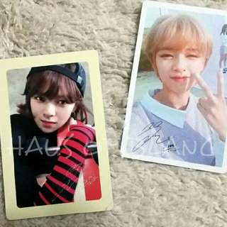 (Free Shipping) TWICE Jeongyeon Official Photocards