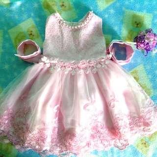 Formal Dress 12-24 mos
