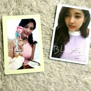 (Free Shipping) TWICE Tzuyu Official Photocards