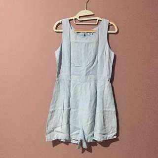 Cotton On 💯% Original -  Denim Jumpsuit