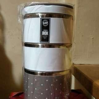 🚚 倍麗保溫餐盒(三盒)