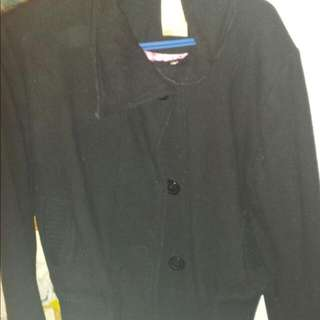 Ladies Black Spring/Fall Jacket Size Large