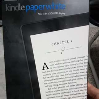 Kindle Paperwhite 3 (7th gen) 300PPI