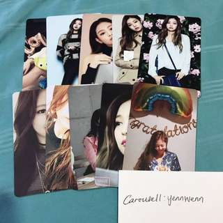BLACKPINK Jennie Fanmade Photocard Set