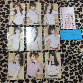 SNSD Gee Unofficial Duplicate Photocard