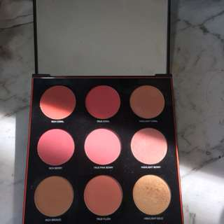 Limited edition smashbox blush/ bronze/ highlight palette
