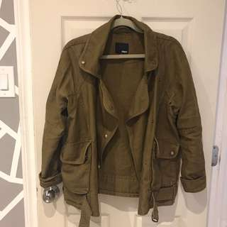 wilfred free biker jacket size xsmall, condition 8.5/10