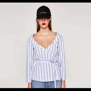 Zara Open Neck Shirt