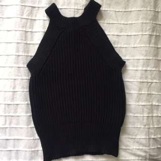 Brandy Melville - Black Knit Top