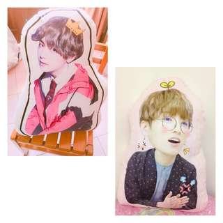 BTS 40cm CUSTOM MADE PILLOW