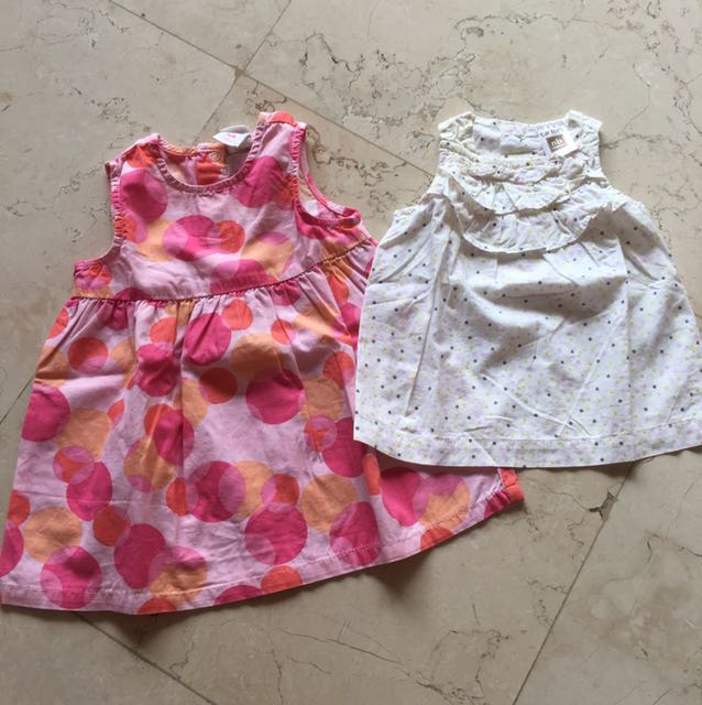 0-3M 2pcs Top & Dress