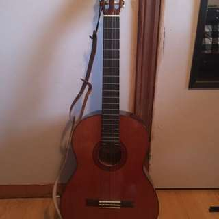 Fender brown acoustic guitar