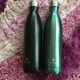 Manna Insulated bottles ($50 for both).  Used twice.