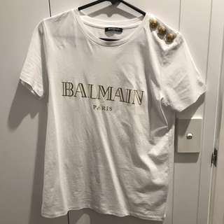 BALMAIN SHIRT AUTHENTIC NEGO