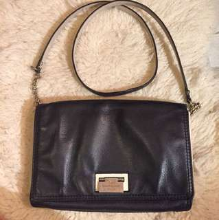 Kate Spade crossbody bag Black/White