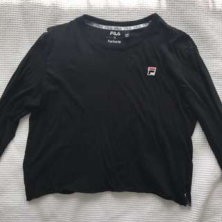 Fila cropped long sleeve