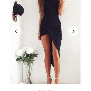 G6 little black dress- size large (12)