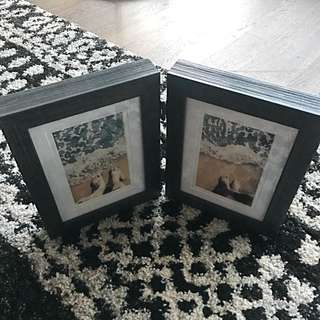 Black Folding Photo Frame