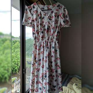 Japanese dress floral size 10-12