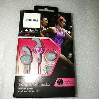 菲利蒲PHILIPS Action Jetkit 有缐耳筒