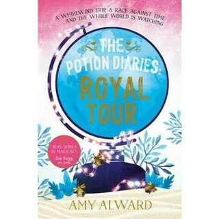 Ebook english Royal Tour (Potion, #2) by Amy Alward