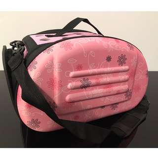 NEW (small pink) cat kitten puppy dog carrier bag carry cage pet