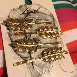 Lovisa Leaf Hair Clip