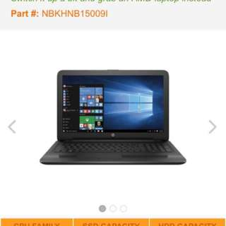 HP Home Student Notebook