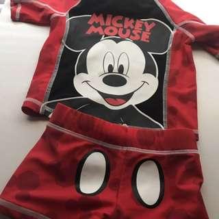 Mickey bathers