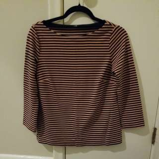Club Monaco Striped Shirt