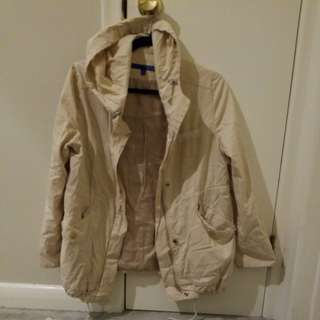 Plastic Island Beige Light Jacket
