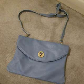 Pastel Blue coloured bag!