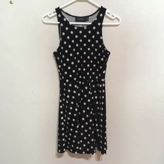MINK PINK XS polka dot dress