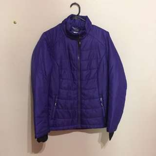 Ski jacket purple (small)