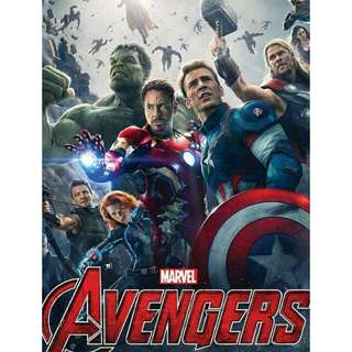 Advengers: Age Ultron (2015) IMDB Book 95% 新, (全部實物拍攝)