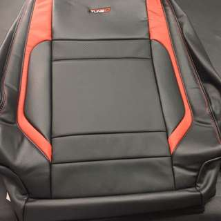 New Proton Saga VVT tune-D Leather Seat cover