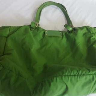 Classic Green Kate Spade Stevie Baby Bag