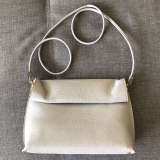 *Urban Outfitters* faux leather lilac clutch