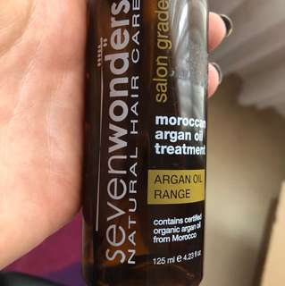 Sevenwonders Moroccan argan oil treatment serum