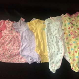 Baby Girl Clothes-IMPORTED from US (NB -8months) more pictures thru private msg.