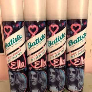 4x BRAND NEW dry shampoo by Batiste - full size 120g