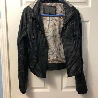Leather jacket size medium