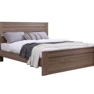 Wooden Finished Queen Bed Frame!